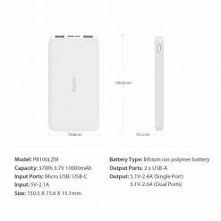Buy Xiaomi Redmi Power Bank 10000mah Price In Pakistan