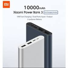 Buy Xiaomi Power Bank 3 10000mah-2input-2output Black Price in Pakistan