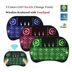 Best Mini Wireless Keyboard Rf 500 Backlight 3 Color Price in Pakistan