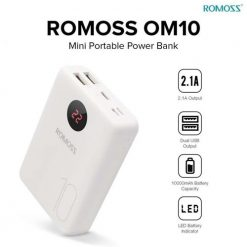 Buy Romoss Om10 With Lcd 10000mah Power Bank Price in Pakistan