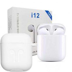 Best Buy Wireless Earphone Twin I12 Sensors Touch Price in Pakistan