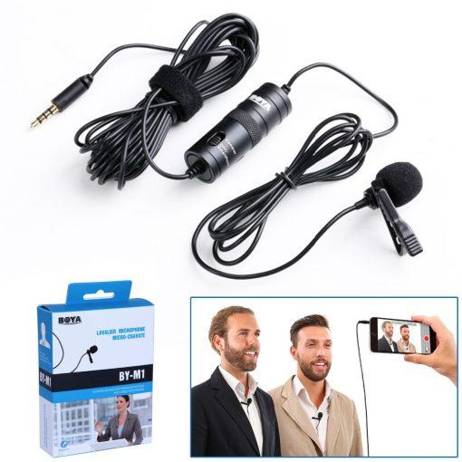 Buy Online Collar Microphone Boya By-m1 Price In Pakistan