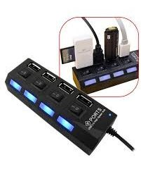 Buy Online Usb Hub 4 Port 2.0 With Button Price In Pakistan