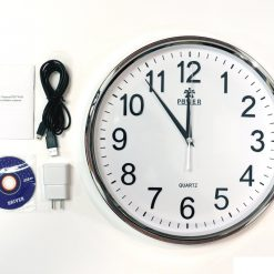 Buy Online Wall Clock 1080p With Wifi Camera Price In Pakistan