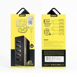 Buy Online Usb Hub Charger Remax 5 Port Price In Pakistan