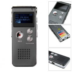 Buy Online Voice Recorder 8gb Price Grey & Black In Pakistan